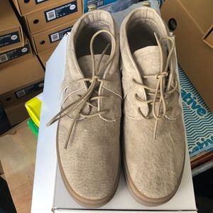 One-O-One Goat Suede Sneakers
